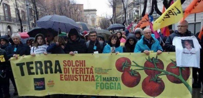A Foggia 40mila in piazza contro le mafie
