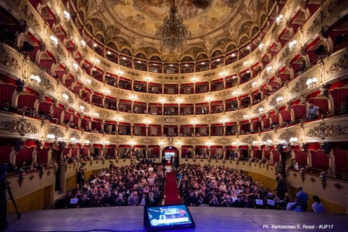 Foto di Bartolomeo E. Rossi per il Festival Internazionale del Giornalismo (edizione 2017).