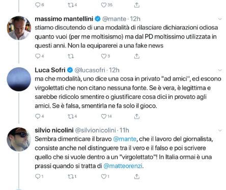Anche Luca Sofri paga dazio al renzismo