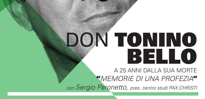 Don Tonino: Memorie di una profezia – PP Reggio Emilia