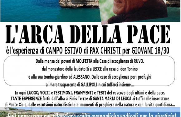 20-25 Agosto, Puglia – L'Arca della Pace per giovani 18/30