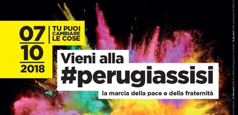 Il 7 ottobre Marcia PerugiAssisi. Aderisci, partecipa e aiutaci ad organizzarla!