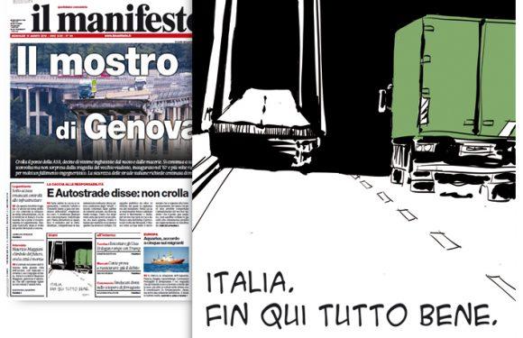 Fino a qui tutto bene. Per Genova.
