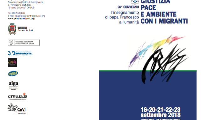 26° Convegno Centro Balducci