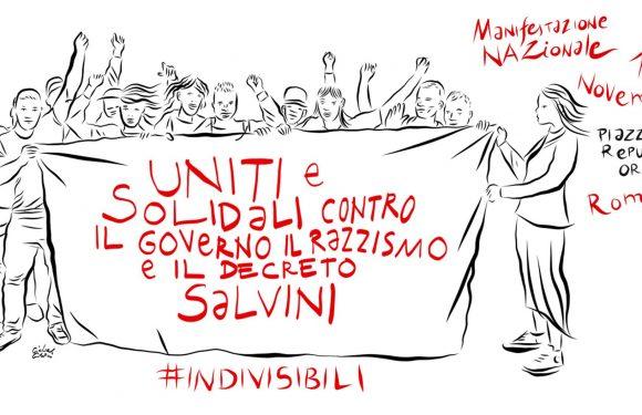 Conferenza Stampa #INDIVISIBILI verso il 10 novembre