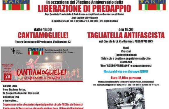 """Il 28 ottobre a Predappio: """"Cantiamogliele!"""""""