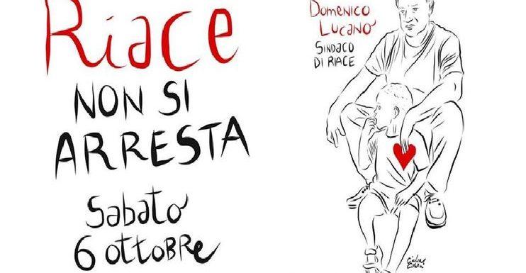 """""""Solidarietà a Mimmo Lucano e alla comunità di Riace"""""""