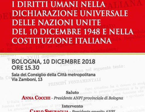 I diritti umani nella Dichiarazione universale dell'ONU e nella Costituzione italiana