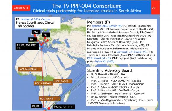 Vaccino anti AIDS: nuova tappa della vicenda (in Sudafrica)