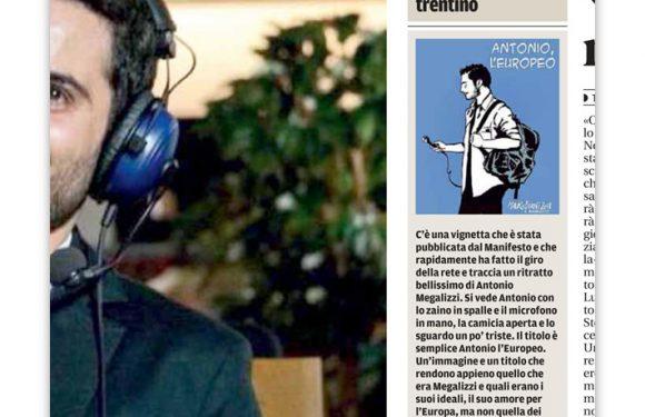 """Antonio. Su """"il Trentino"""""""