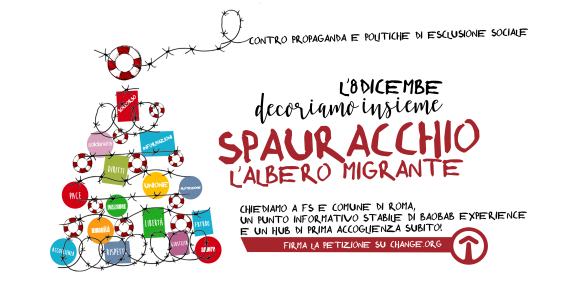 Arriva Spauracchio, l'albero migrante!