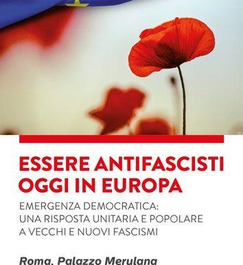 Per una grande unità antifascista in Europa