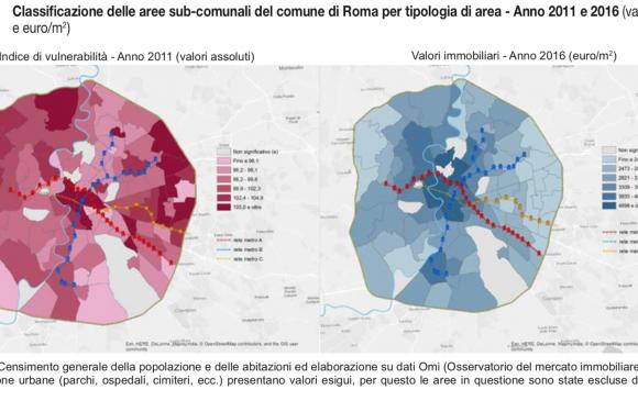 Roma, Napoli e Milano: la trama delle diseguaglianze urbane