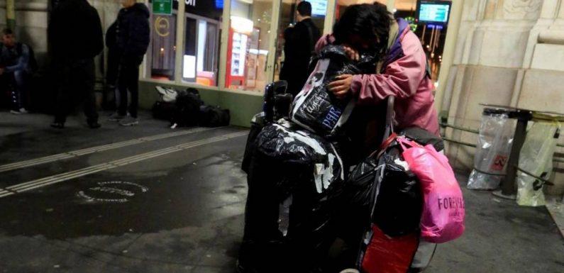 Una notte… con i senza tetto