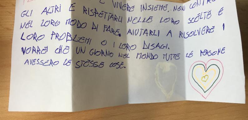 Castelnuovo di Porto: UNICEF consegna lettere per bambini e ragazzi del CARA al Presidente Mattarella