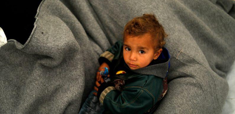 Siria, vite dei bambini appese a un filo