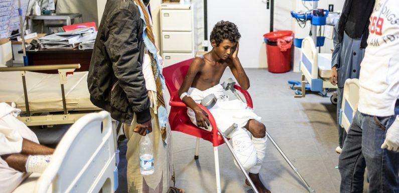 Yemen sud-occidentale, le persone sono intrappolate dalle mine