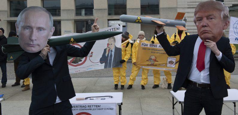 Anche la Russia ha sospeso l'adesione al trattato sulle armi nucleari con gli Stati Uniti