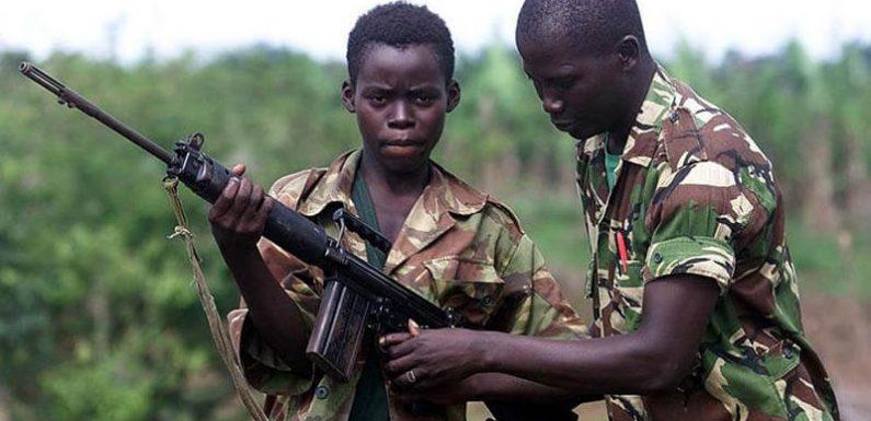 Il dramma dei bambini soldato