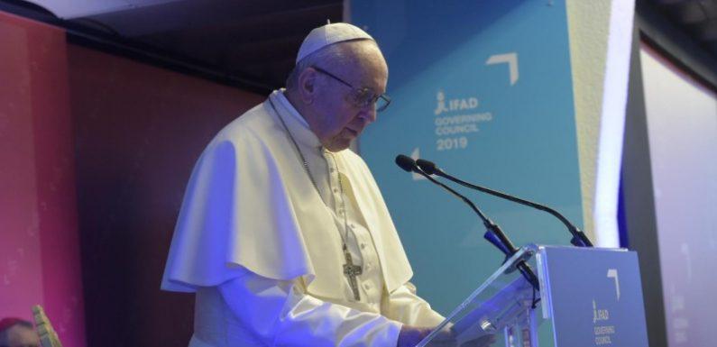 Il Papa alla FAO: soluzioni reali contro fame e povertà