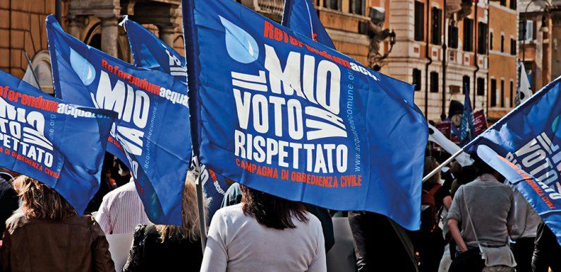 Il referendum tradito: otto anni dopo, l'acqua è ancora una fonte di profitto. Ecco perché