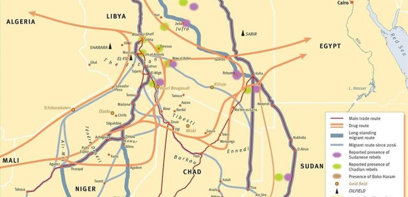 Libia: la mappa dei contrabbandieri di merci e di uomini
