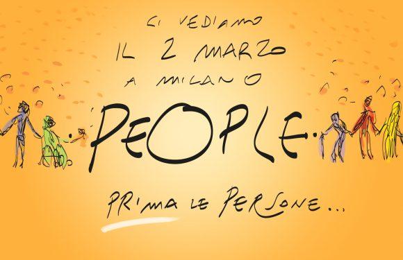 PEOPLE – Prima le persone. Il 2 marzo #iocisarò