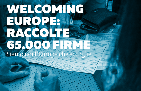 Welcoming Europe: 65.000 firme per l'Europa che accoglie
