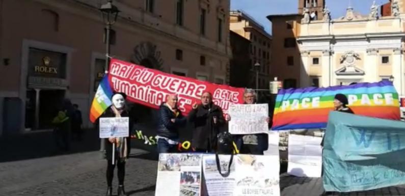 Yemen, manifestazione pacifista a Roma. Giulietti: chi si batte contro le bombe lo fa anche per sicurezza italiani