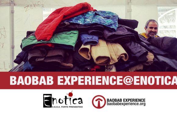 17 Marzo – Raccolta Beni Baobab Experience @Enotica2019
