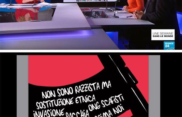 Caricatori, su France24
