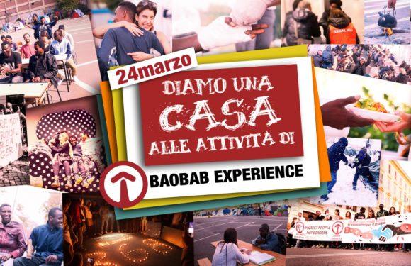 """Diamo una """"casa"""" alle attività di Baobab Experience! Pranzo"""