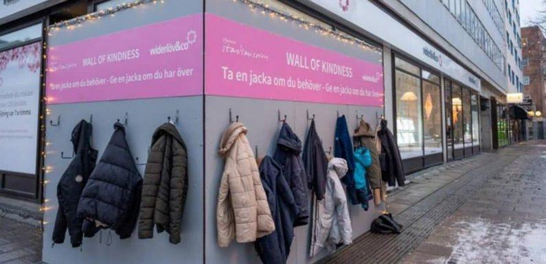 I muri della gentilezza: un gesto che può fare la differenza