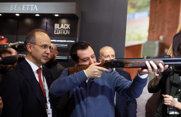 """Italian gun laws change as leaders push """"legitimate defense"""""""