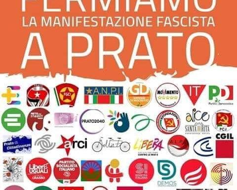 """""""Le Istituzioni non autorizzino l'adunata fascista di Forza Nuova il 23 marzo a Prato"""""""