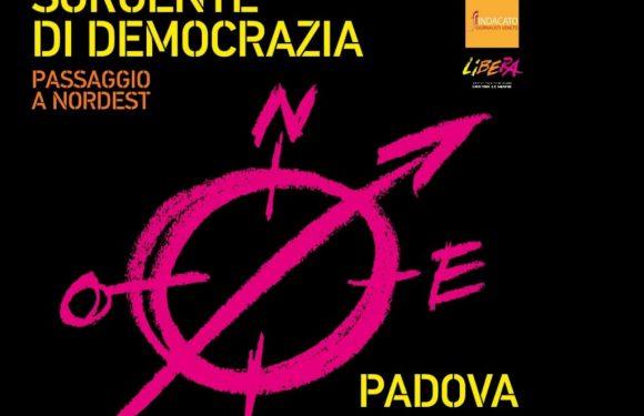 """L'informazione sorgente di democrazia"""", incontro a Padova con don Ciotti."""
