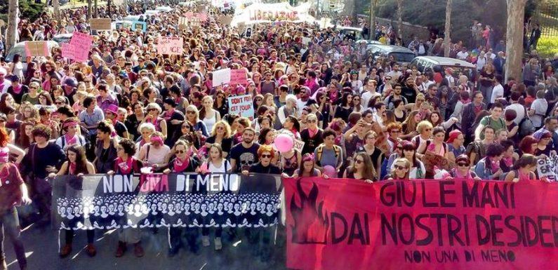'Non Una Di Meno': pacifica marcia di protesta a Verona per difendere i diritti di tutti