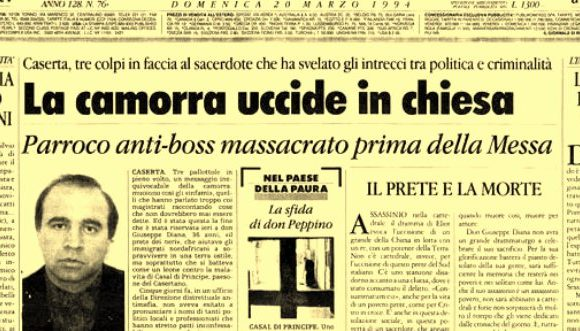"""""""Per amore del mio popolo non tacerò!"""" 25 anni fa la camorra uccideva don Peppe Diana"""