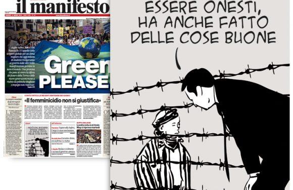 Tajani e Mussolini