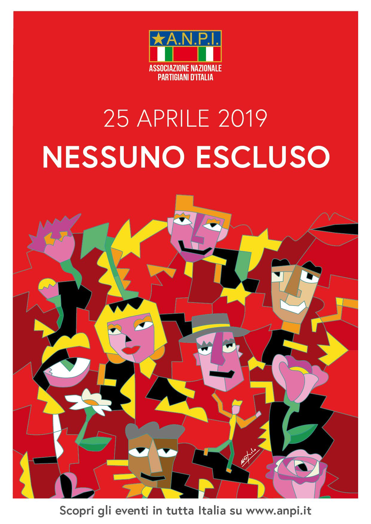 MANIFESTO ANPI 25 APRILE 2019