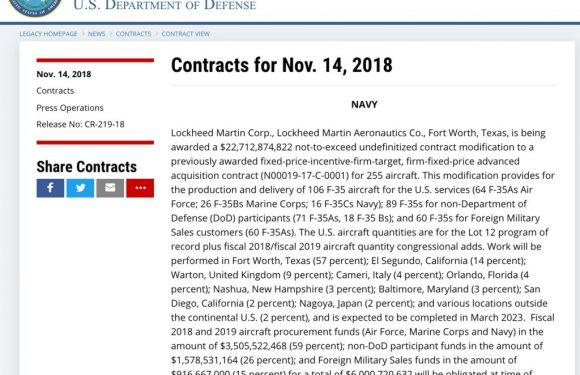 F-35: il governo Conte ha deciso di proseguire sull'acquisto di altri cacciabombardieri?