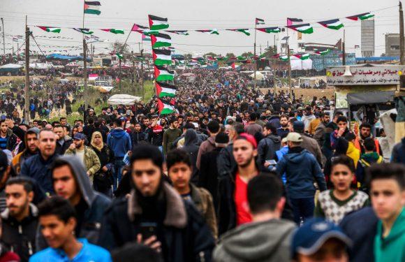 Gaza, anniversario della marcia del ritorno