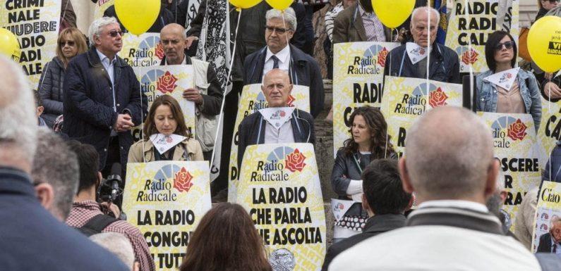 La Pasqua di Radio Radicale. In piazza contro il bavaglio