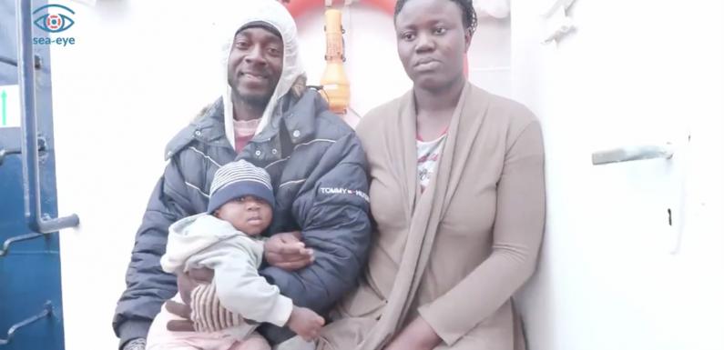 """""""Non possiamo andarcene senza i papà"""", ecco le famiglie che Salvini ha cercato di dividere a Lampedusa"""
