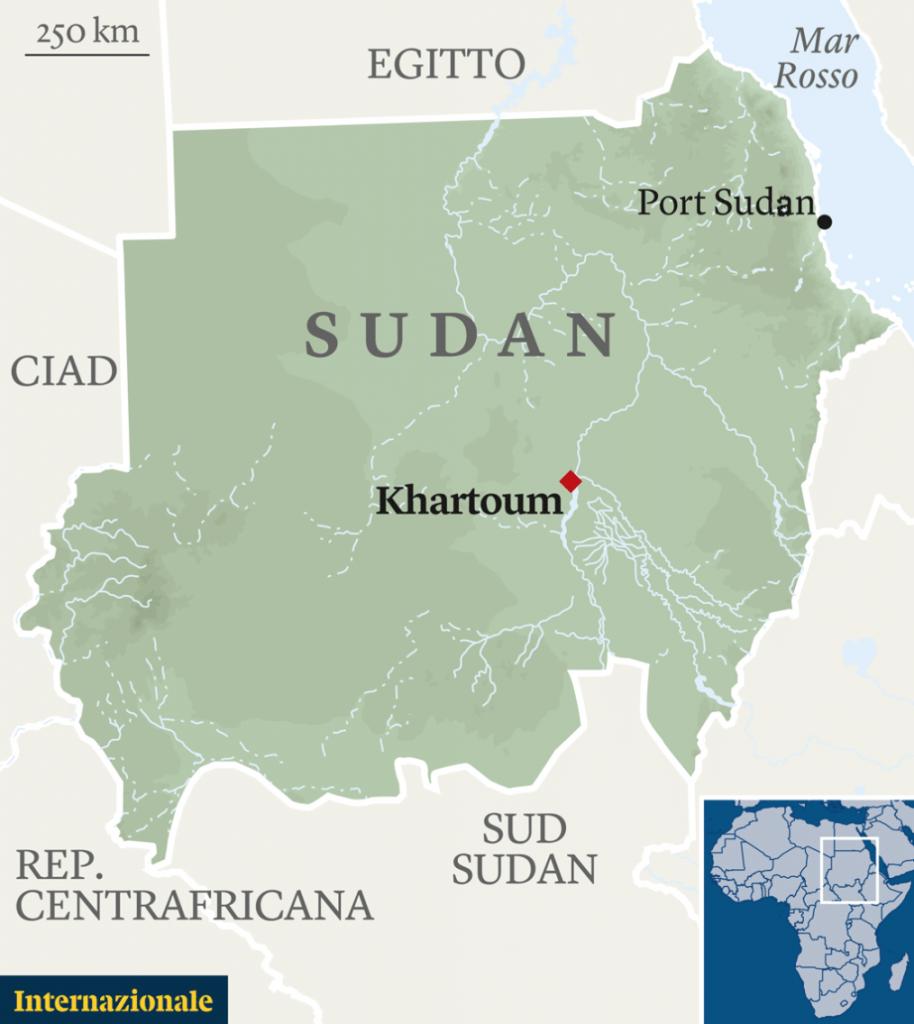 Sudan, proteste, Khartoum, Salah