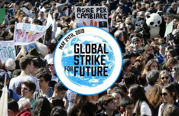 Clima, il 24 maggio Global Strike for Future