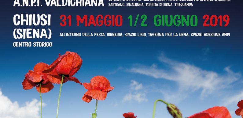 """Dal 31 maggio al 2 giugno, a Chiusi, la seconda """"Festa della Costituzione"""""""