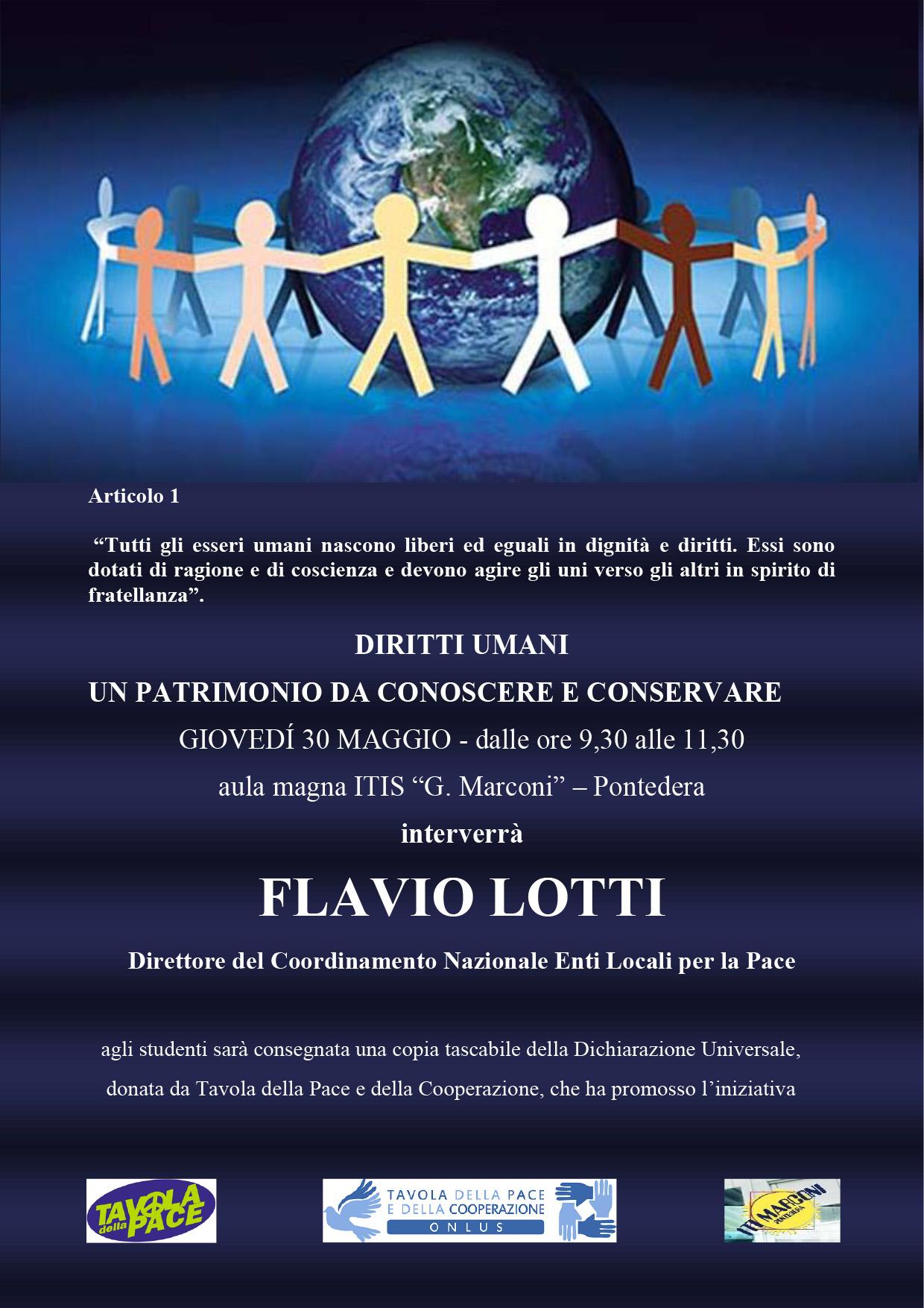2219.05.30 Flavio Lotti incontra studenti Itis Pontedera