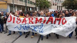 DisarmiAMO Napoli, sit-in per dire no alla camorra