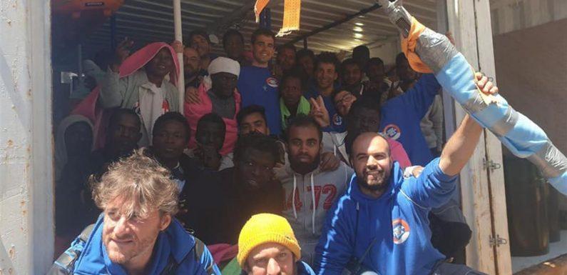 I porti italiani non sono mai stati chiusi: sbarchi ad Augusta e a Lampedusa